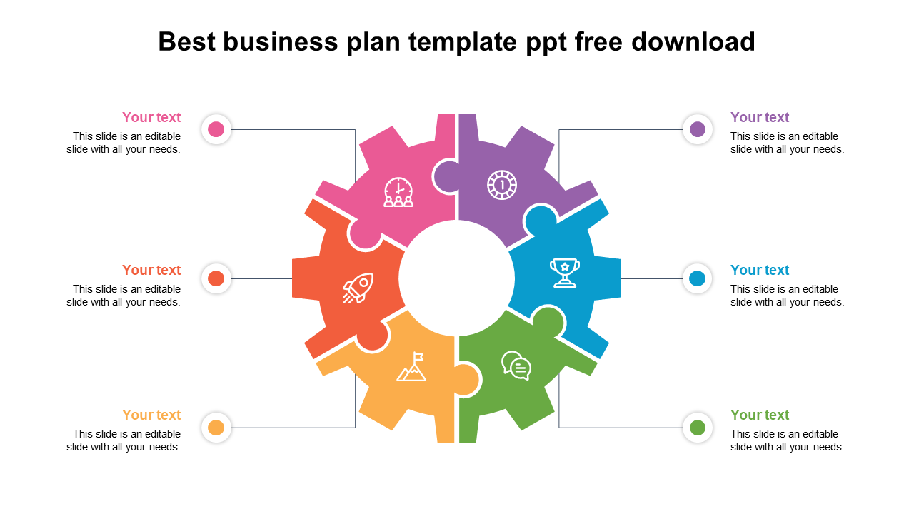 Best Business Plan Template PPT Free Download