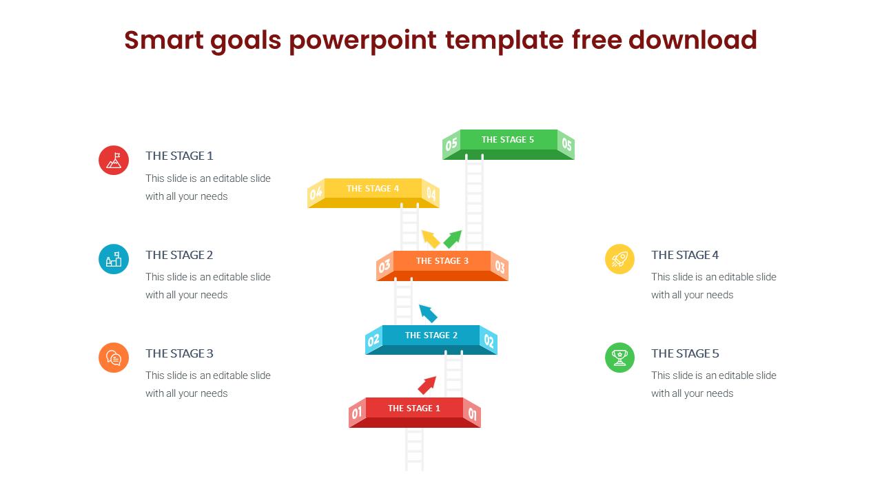Smart Goals Powerpoint Template Free Download