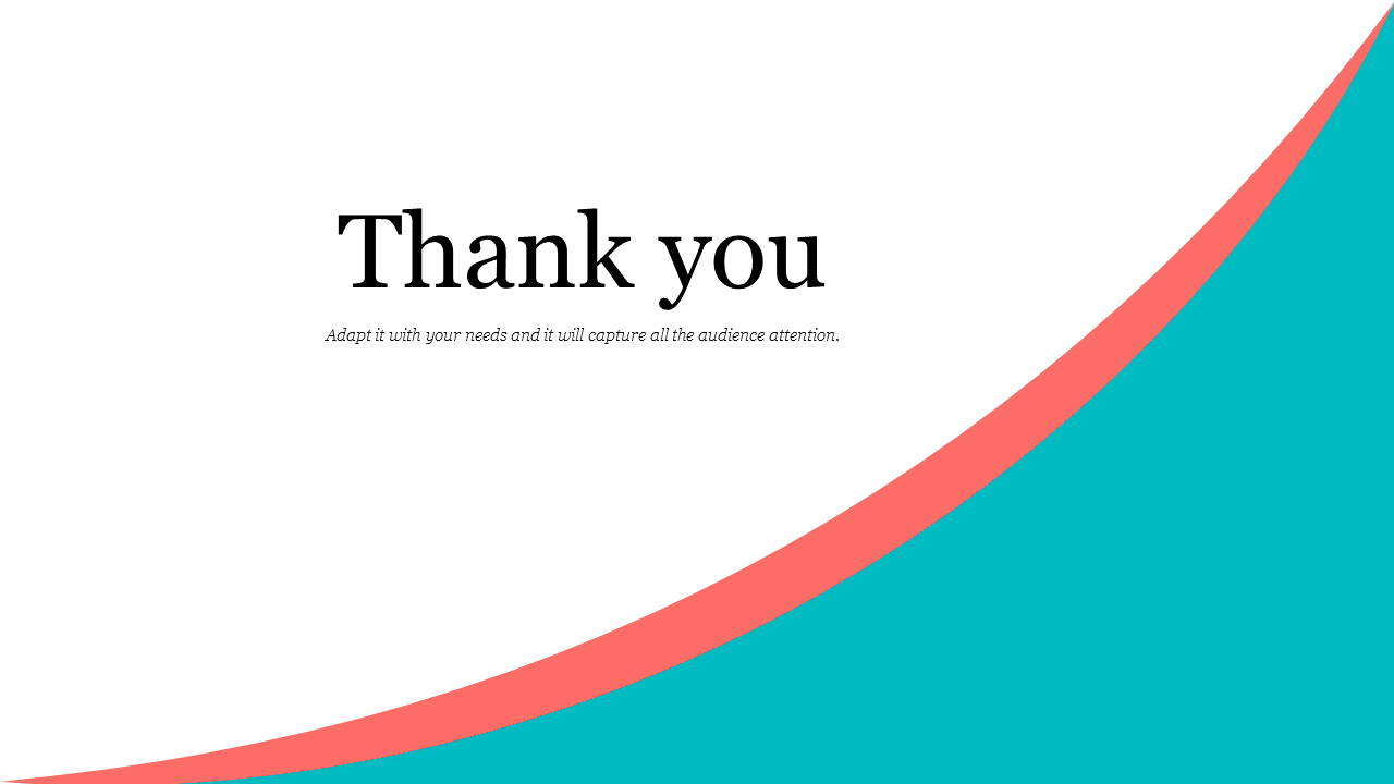 Simple Thankyou Powerpoint Template