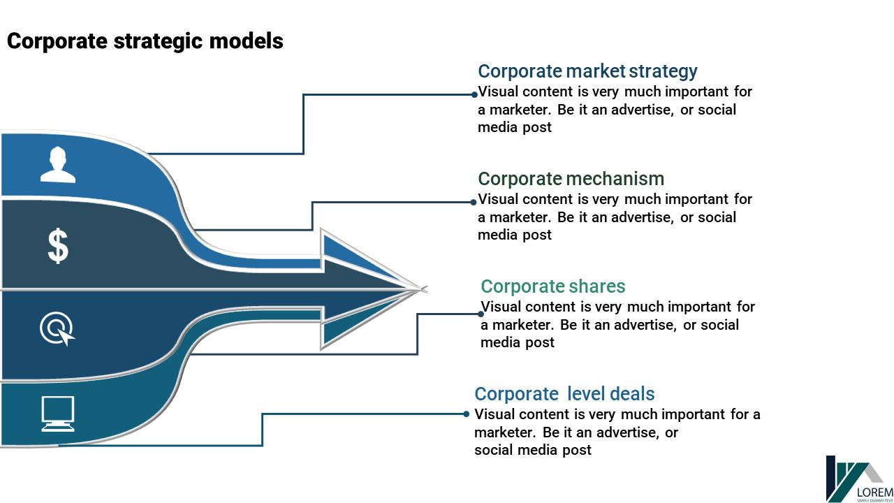 Corporate Power Point Presentation - Multiplexed Arrows