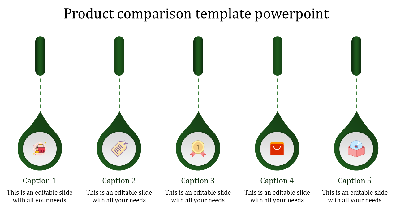 Infographic Product Comparison Template Powerpoint