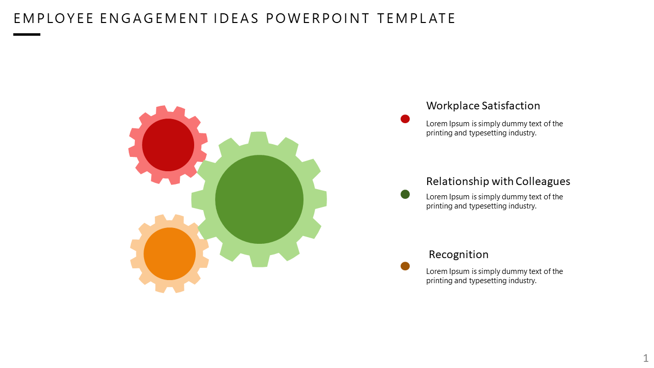 A Employee Engagement Powerpoint