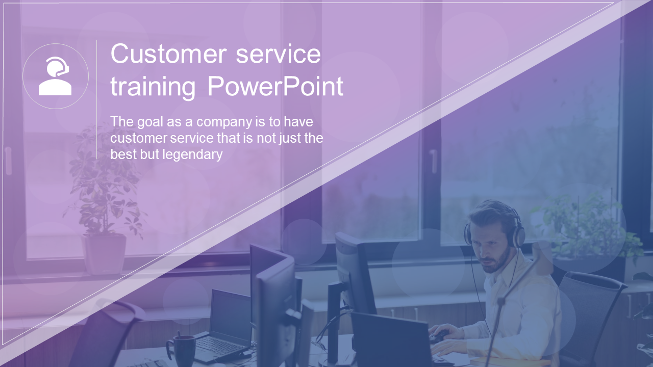 Customer Service Training Powerpoint Template