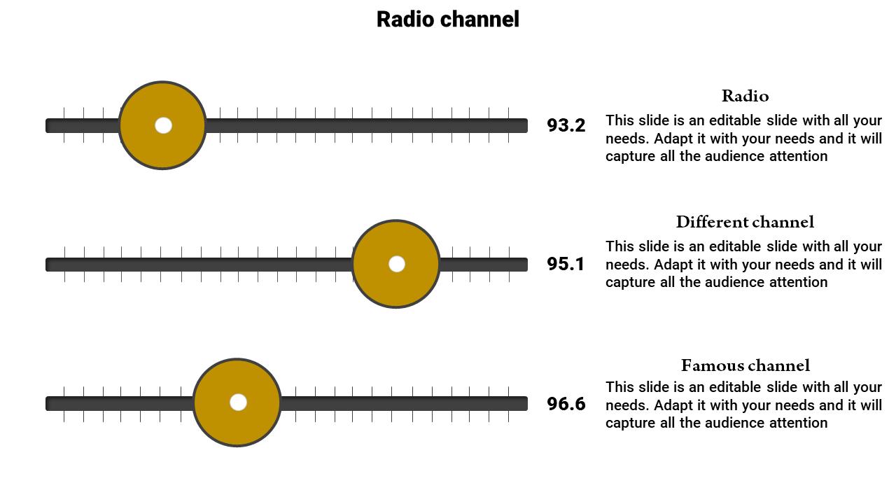 SlideEgg | television powerpoint template-Radio