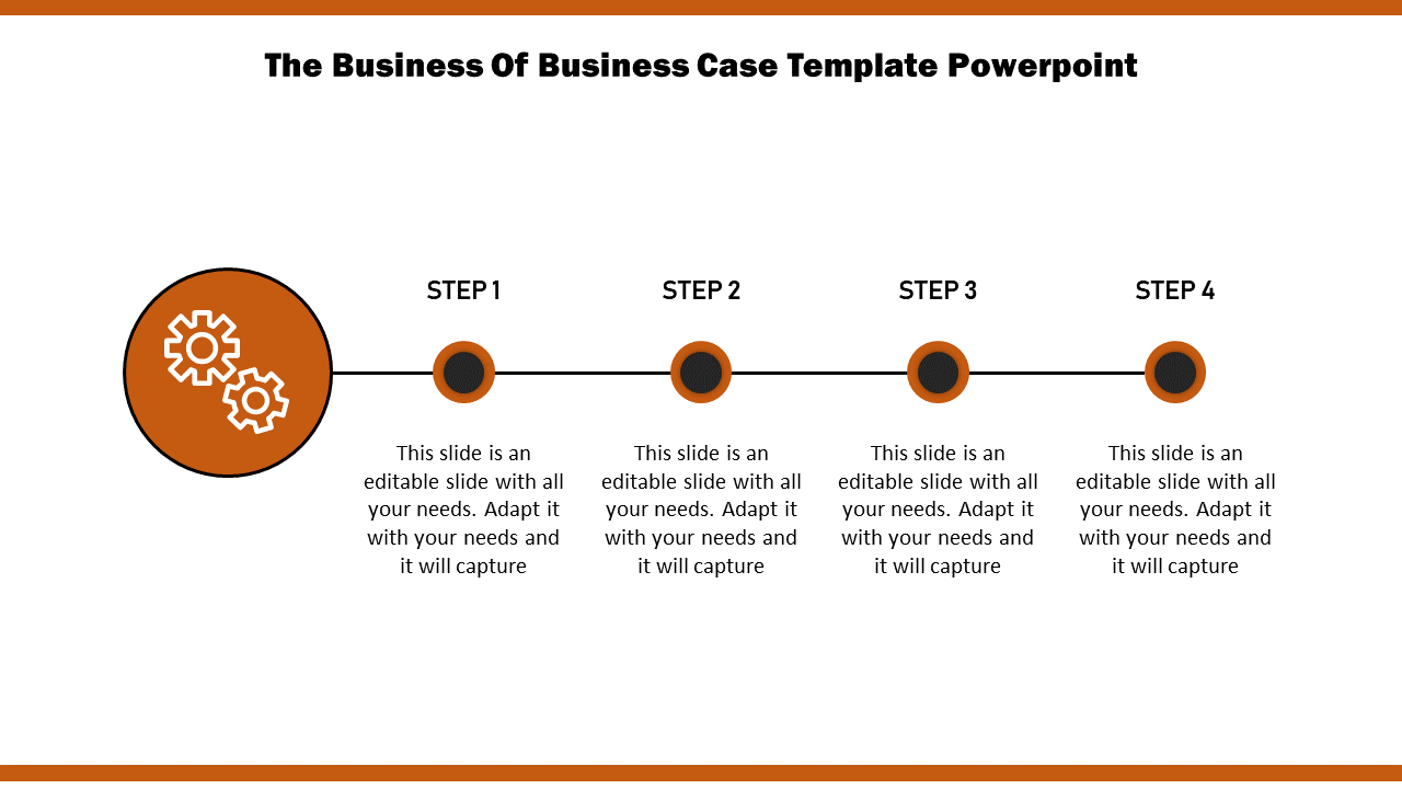 Slideegg Business Case Template Powerpoint The Business Of