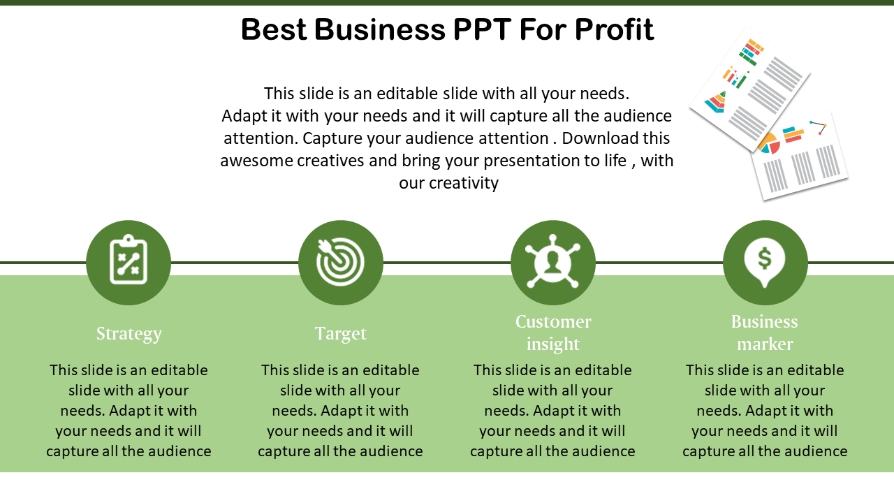 Free - Free Download Best Business Powerpoint Template