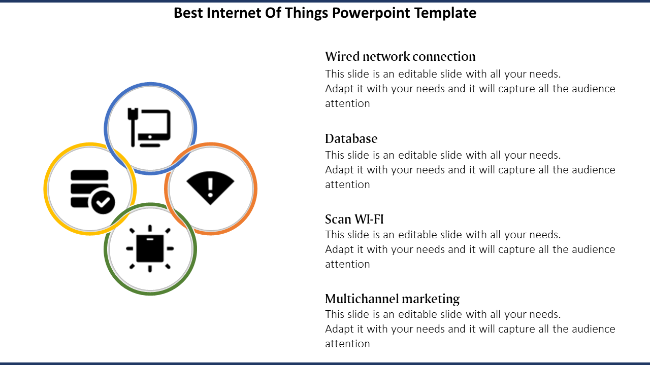 Internet Of Things PowerPoint Template Purpose