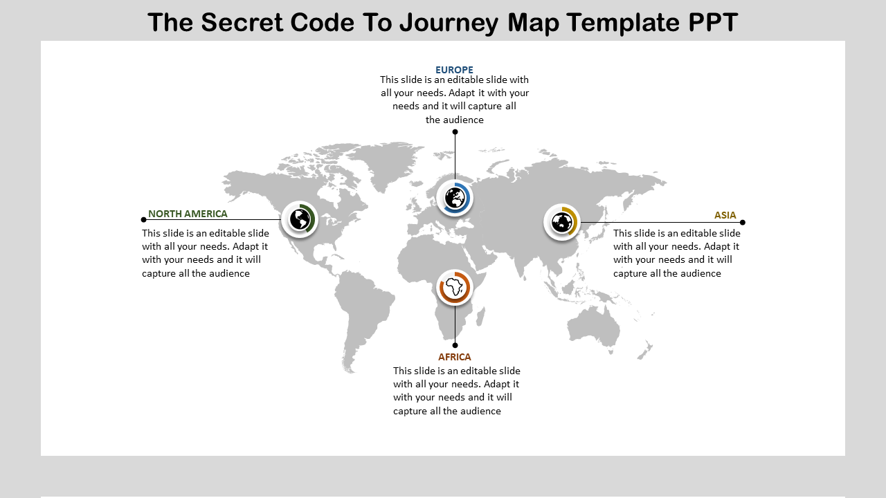Journey Map Template PPT