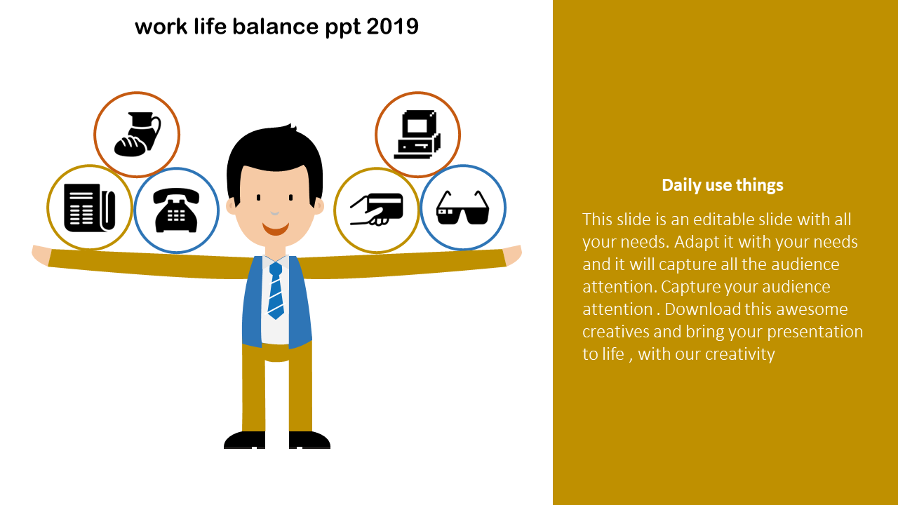 Work Life Balance PPT Template