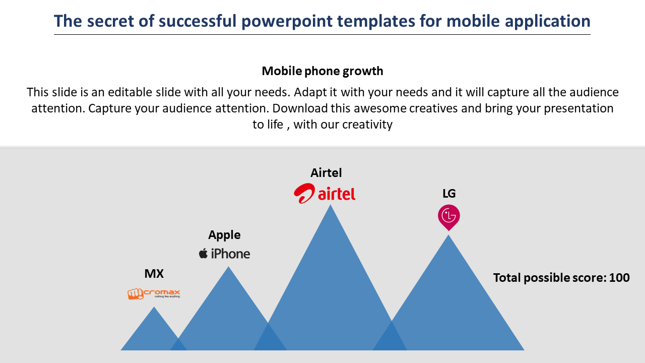 Free-powerpoint Templates For Mobile Applic