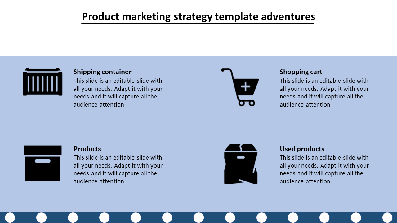Free-product Marketing Strategy Template