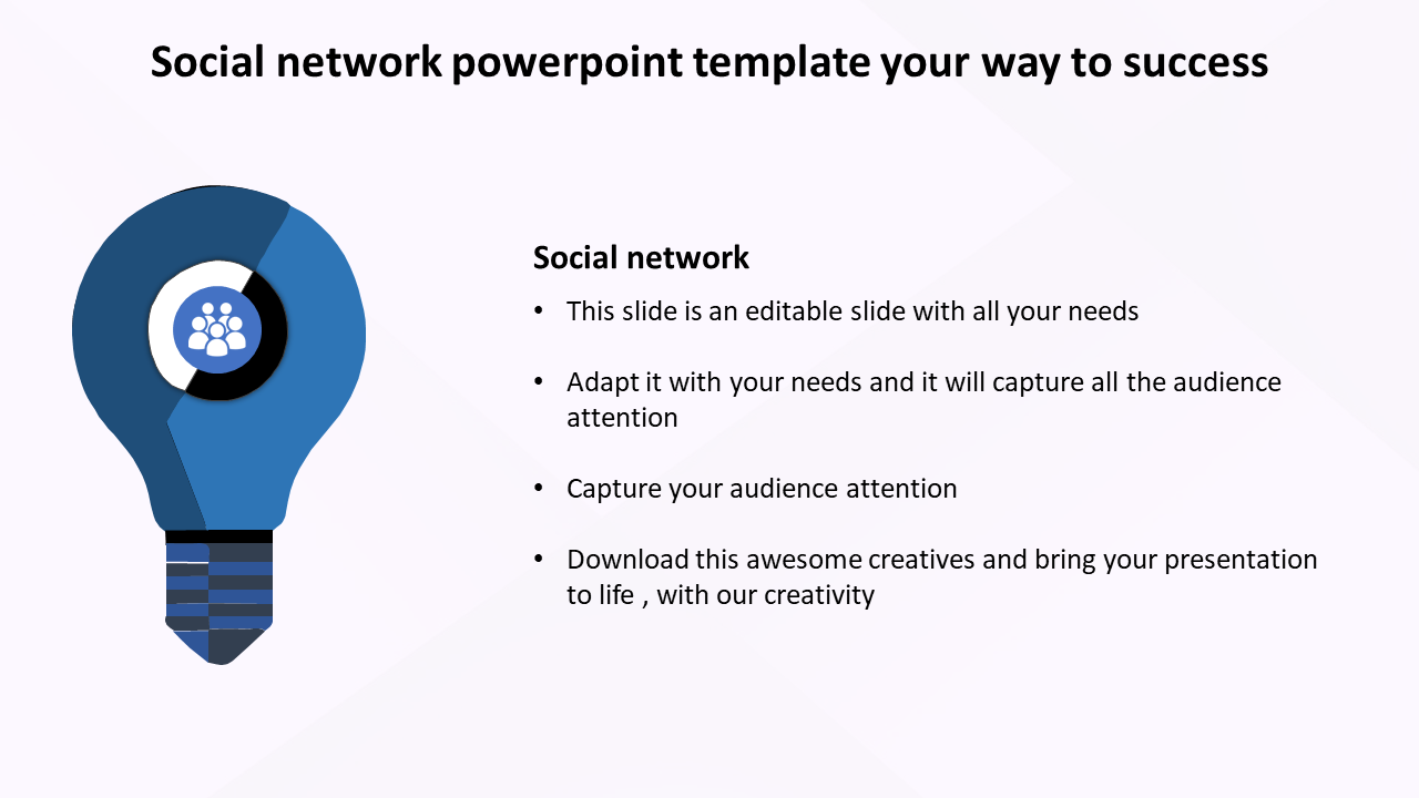 Free-social Network Powerpoint Template