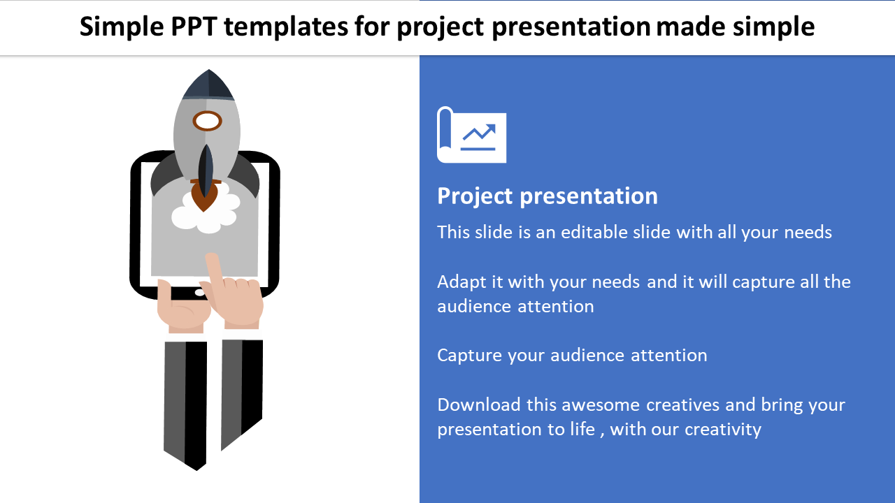 Simple PPT Templates For Project Prese