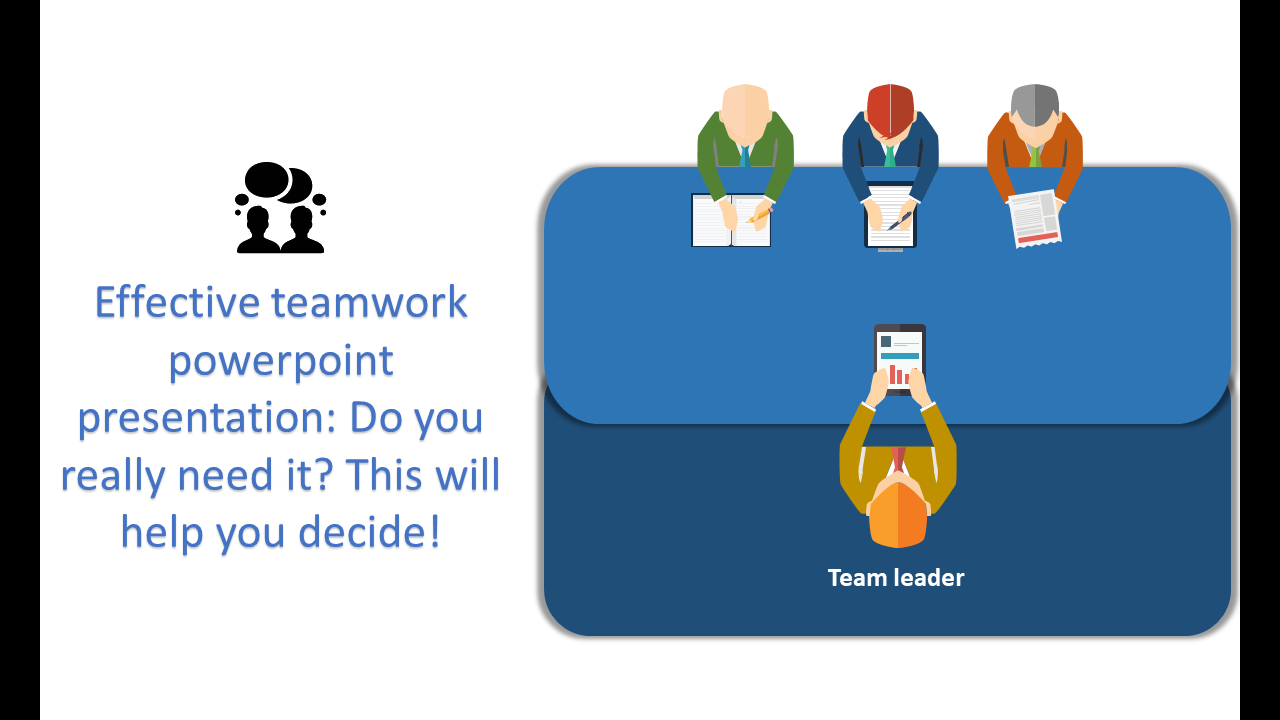 Effective Teamwork Powerpoint Presentation Meeting
