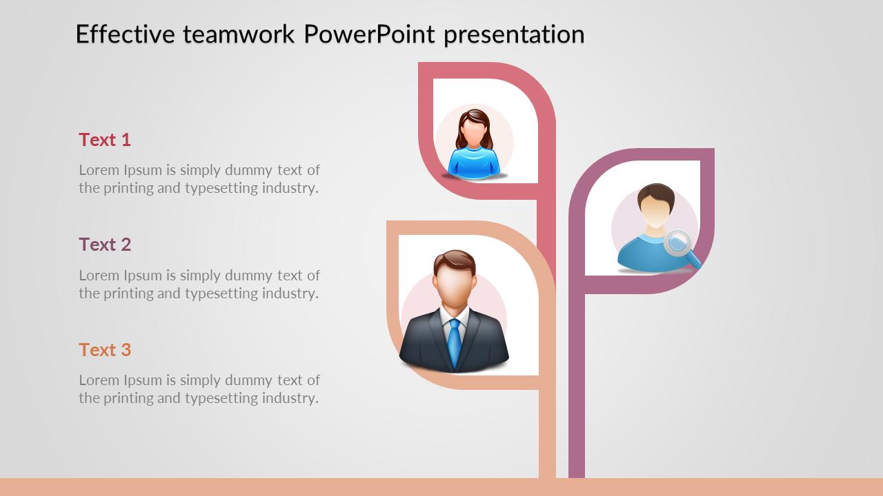 Teamwork PowerPoint Presentation For Team Meeting
