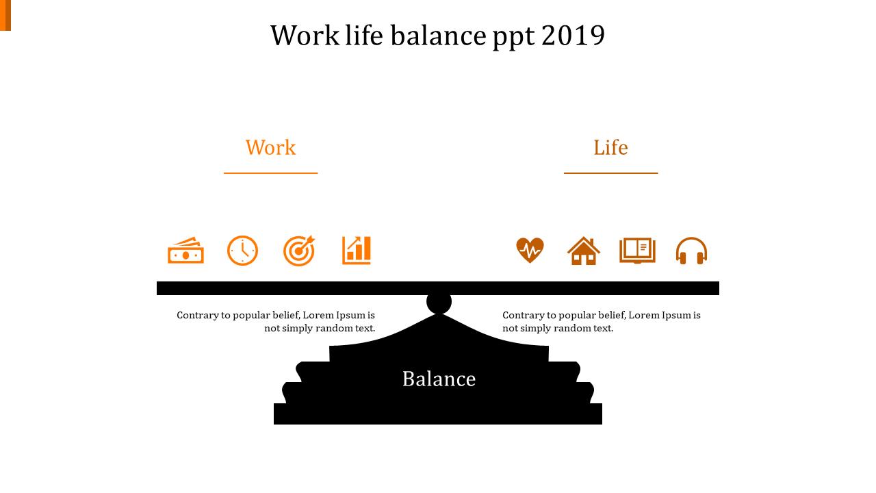 Free - Professional Work Life Balance PPT 2019