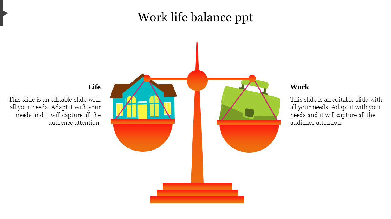 Work Life Balance Measure PPT For 2020