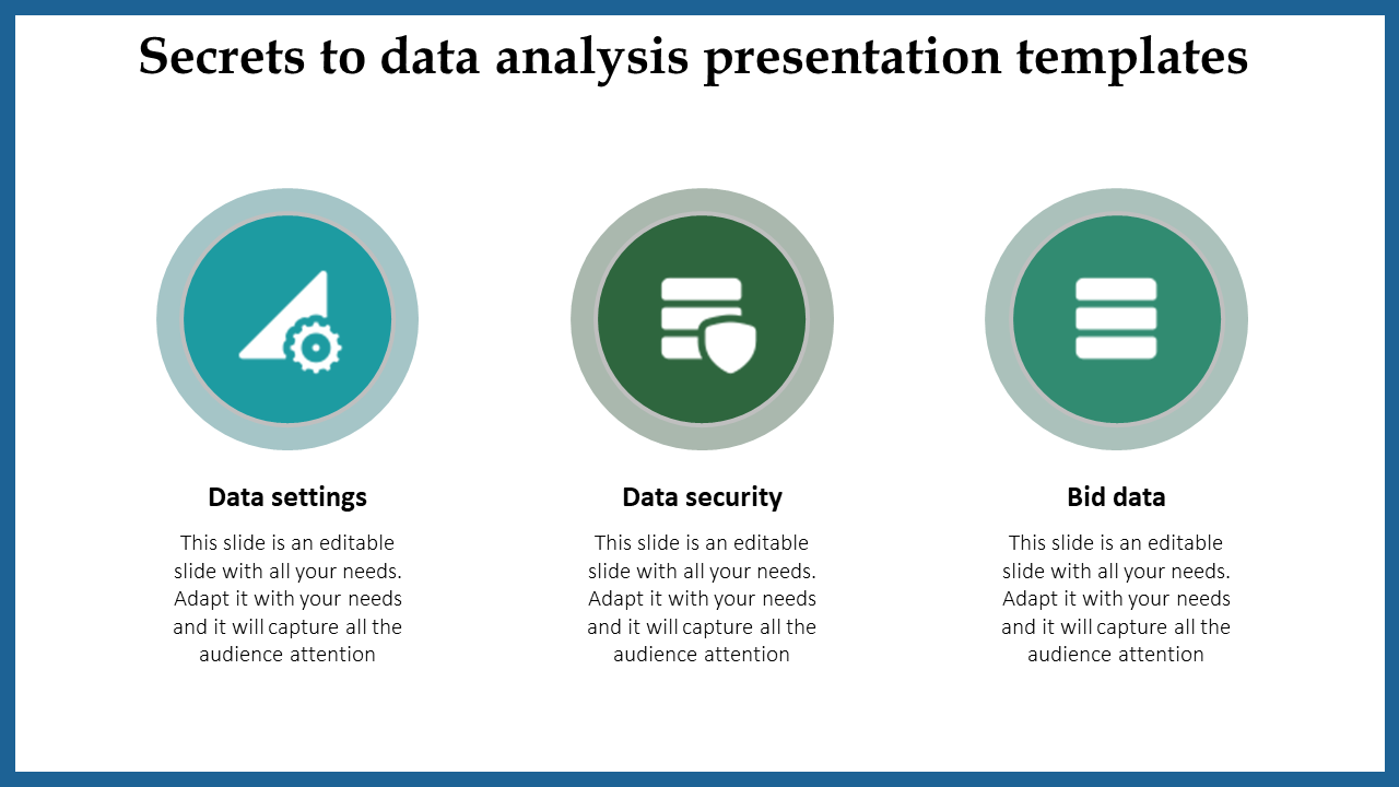Simple Data Analysis Presentation Templates