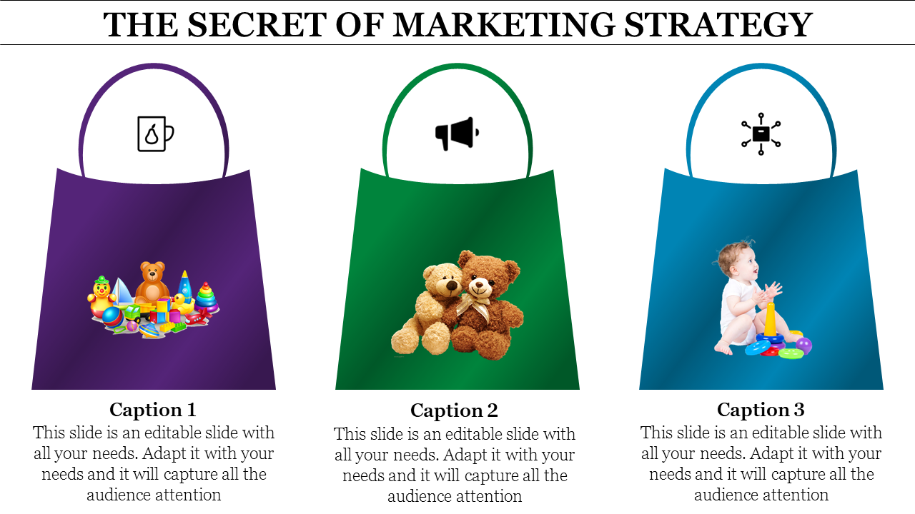 Marketing Strategy Template - Handbag Model