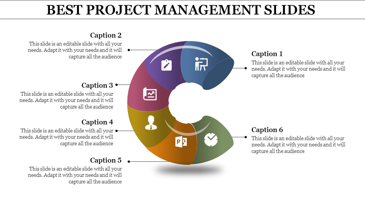 C Model Project Management Powerpoint Slides