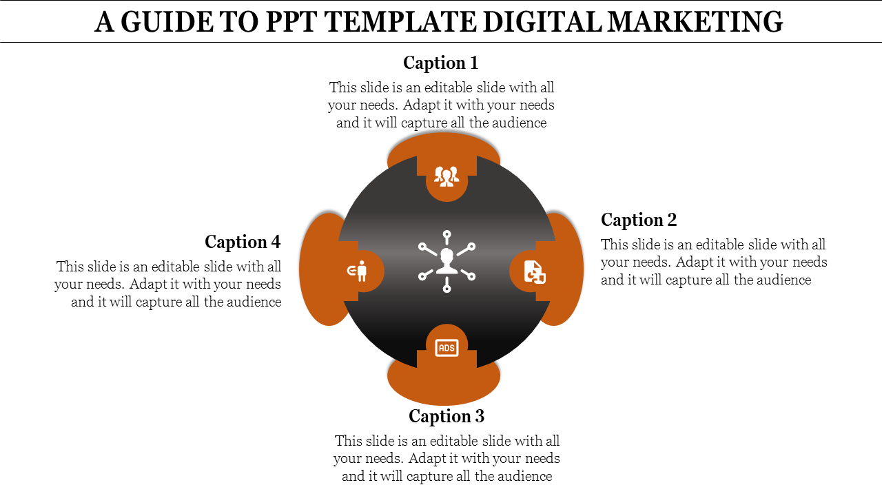 SlideEgg | ppt template digital marketing-A GUIDE TO PPT TEMPLATE