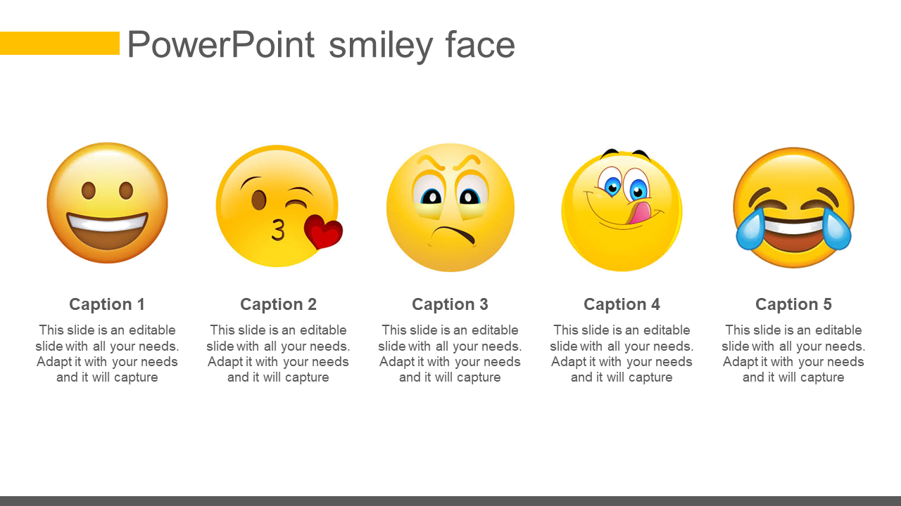 Emojis Powerpoint Smiley Face