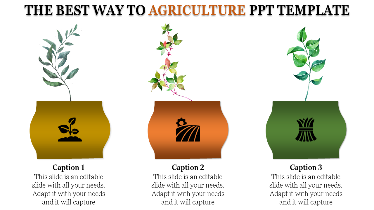 Agriculture Ppt Template