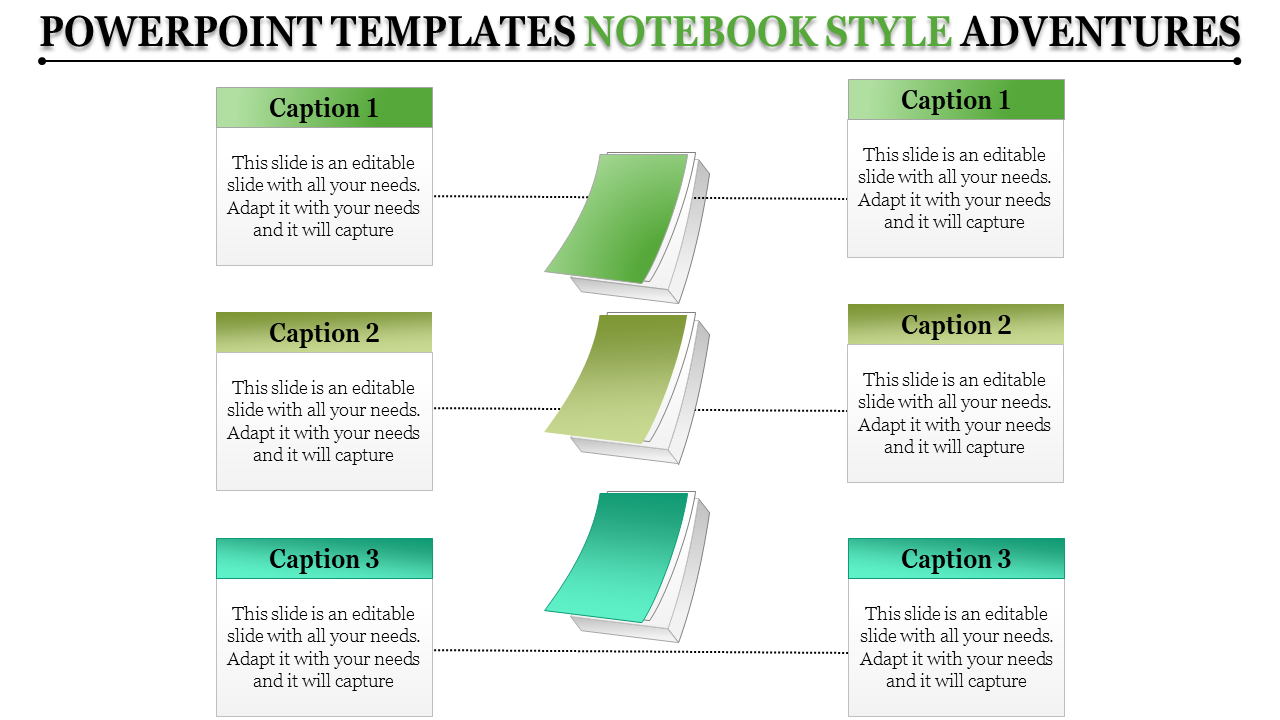 Powerpoint Templates Notebook Style