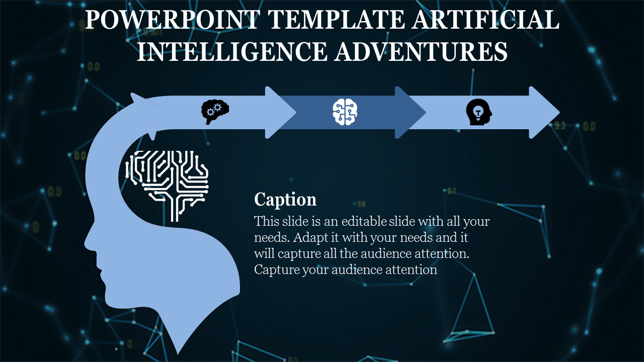 Powerpoint Template Artificial Intelligence That Wins Customers