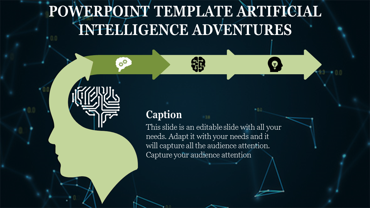Arrows Powerpoint Template Artificial Intelligence