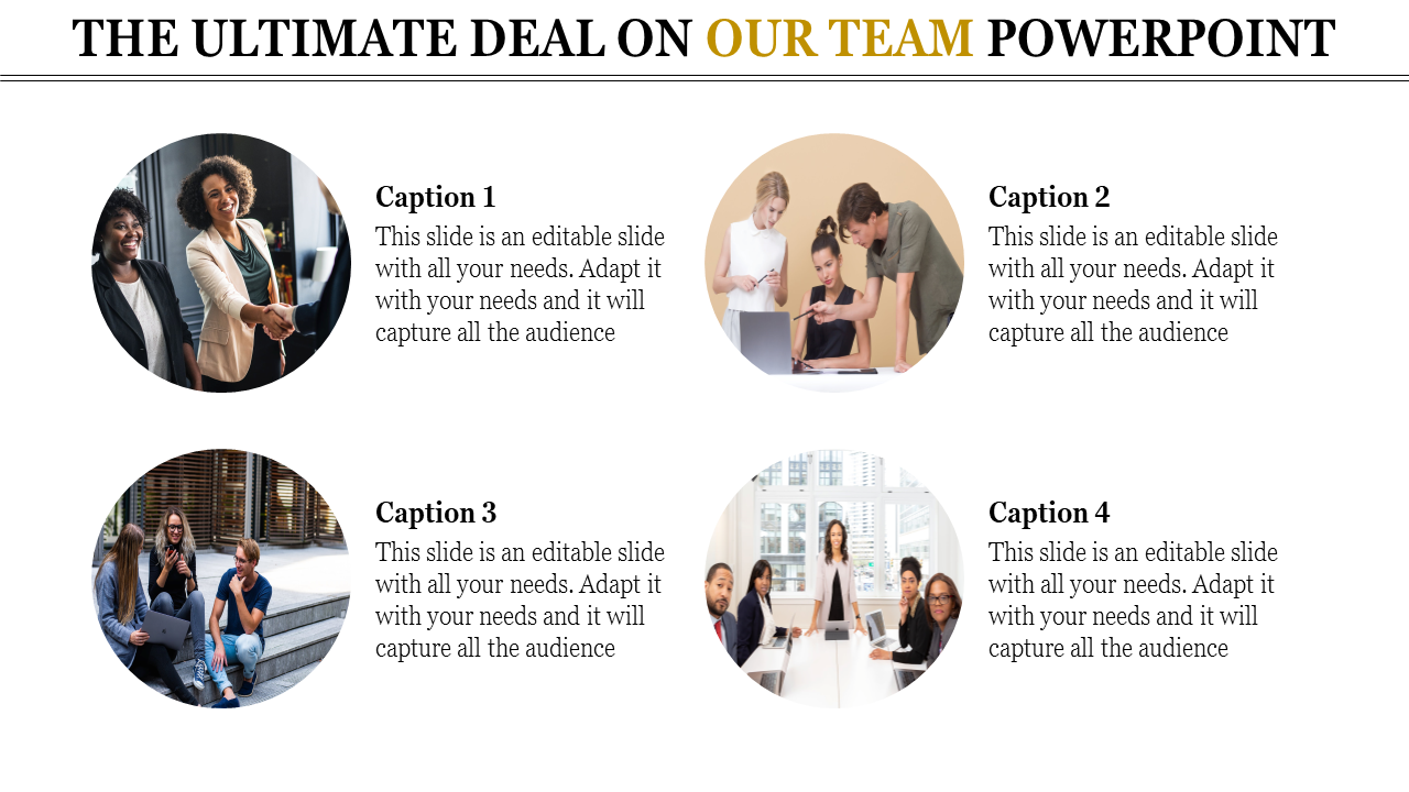 SlideEgg   our team powerpoint template-The Ultimate Deal On OUR