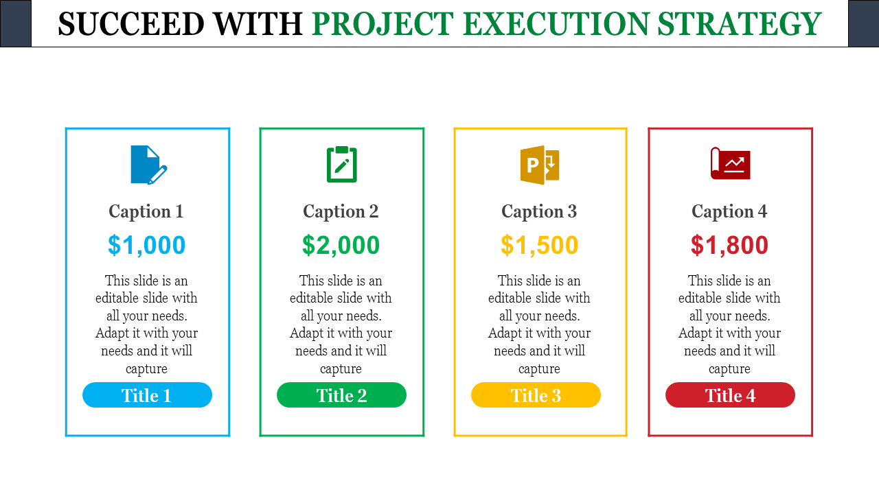 Execution Plan Template from www.slideegg.com