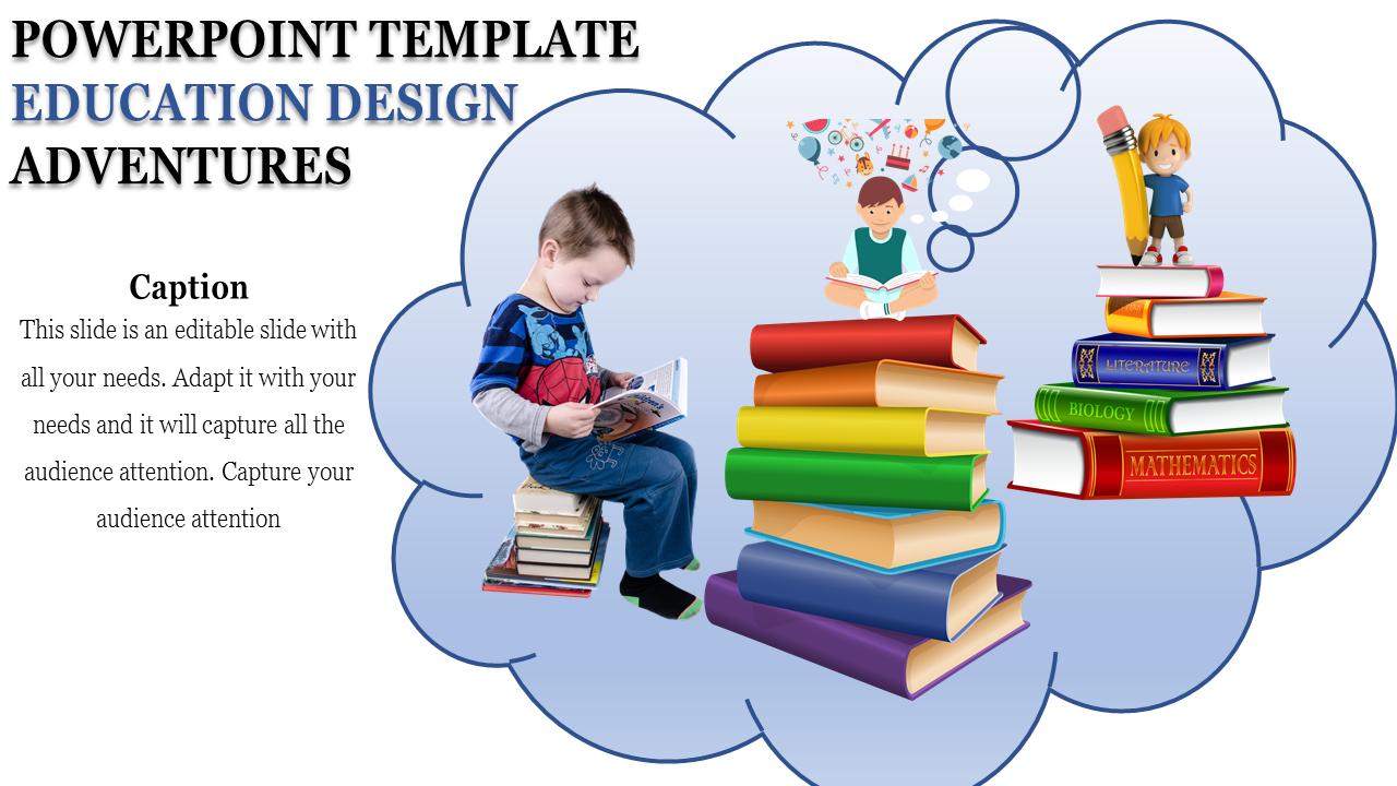 Powerpoint Template Education Design Slideegg