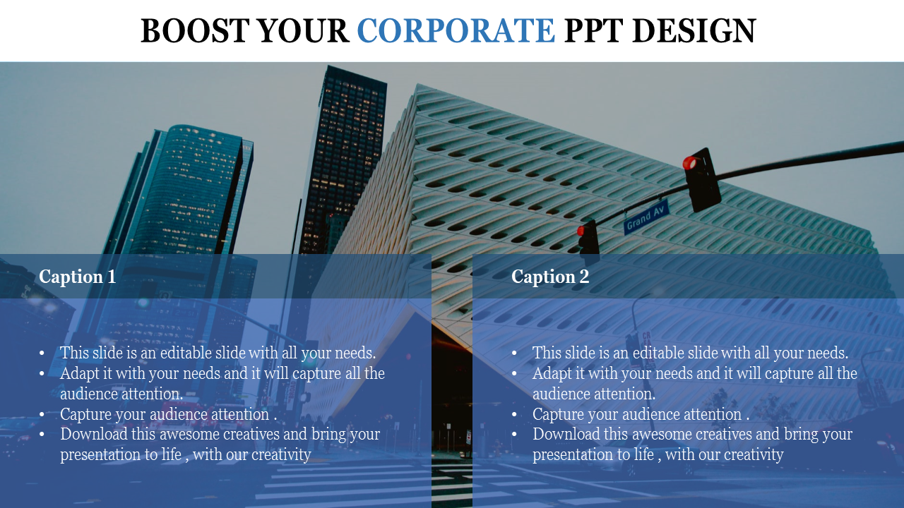 Free-corporate PPT Design