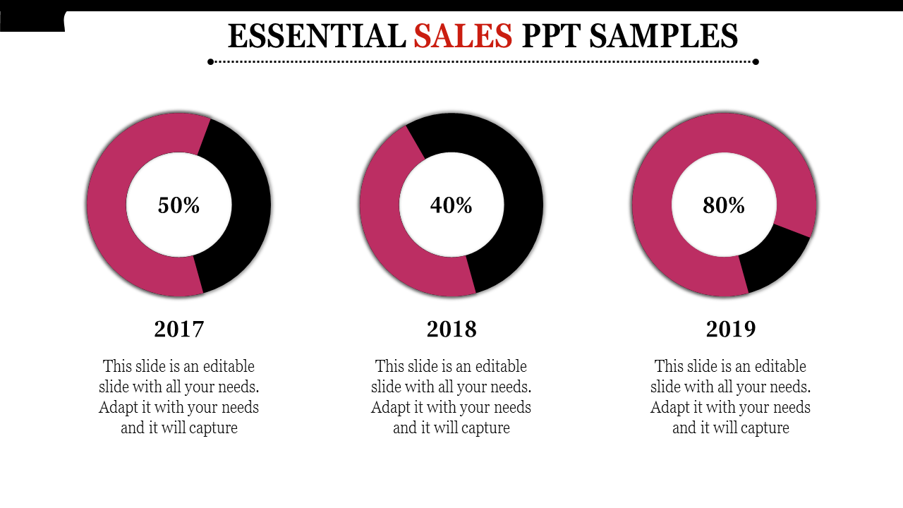 Sales deck model Sales PPT Samples