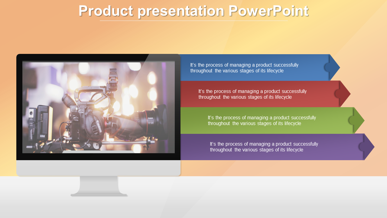 Free - Best Product Presentation Powerpoint Template