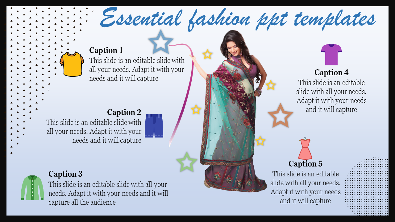 Fashion Powerpoint Templates For Offer Details