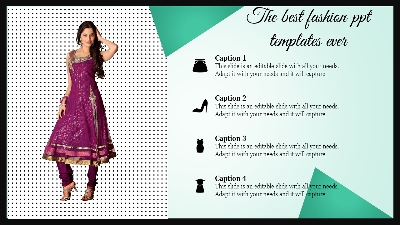 Fashion Powerpoint Template For New Trends Slideegg