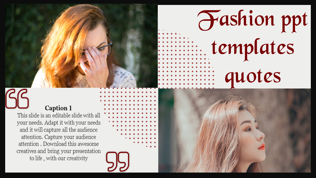 New Fashion Powerpoint Templates
