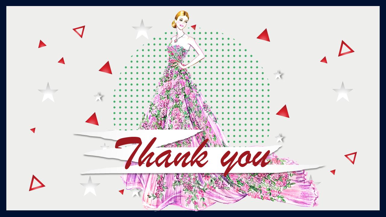 Thank You Slide Fashion Slideegg