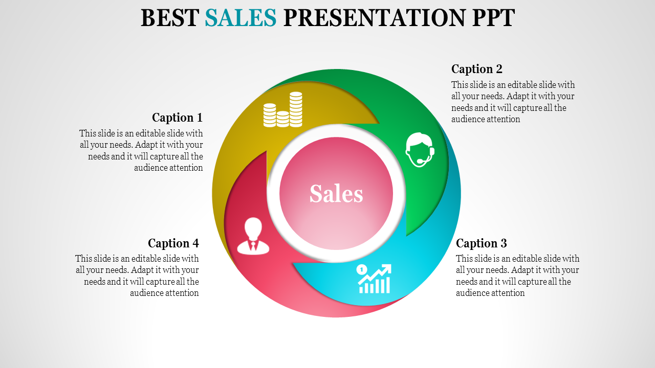 Spherical Sales Presentation Powerpoint