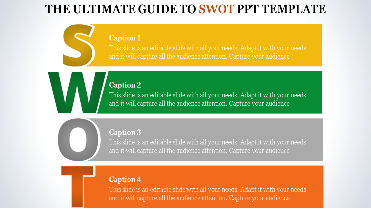 Swot Powerpoint Template For For Business Development Slideegg