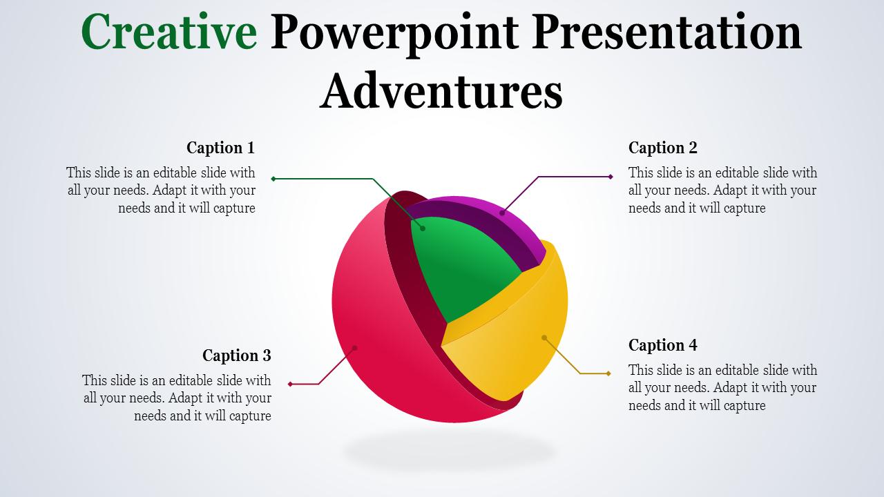 Creative Powerpoint Presentation - 3D Sphere