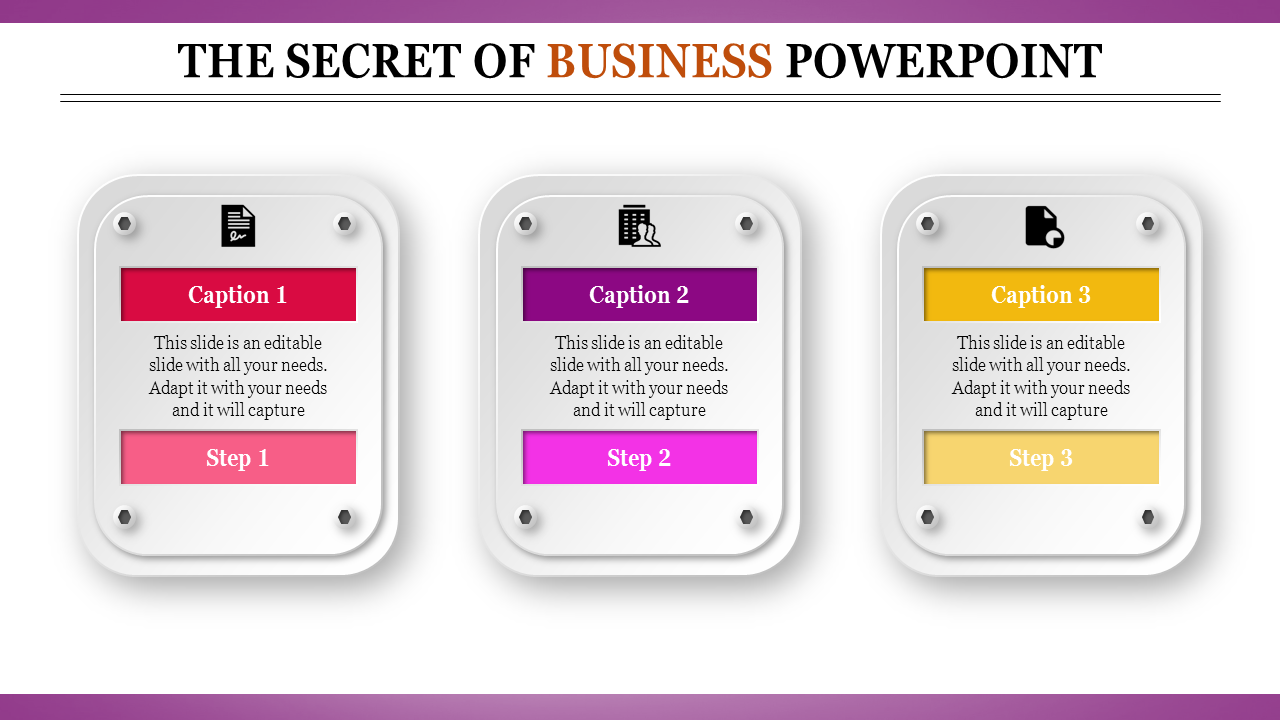 Efficient Business Powerpoint