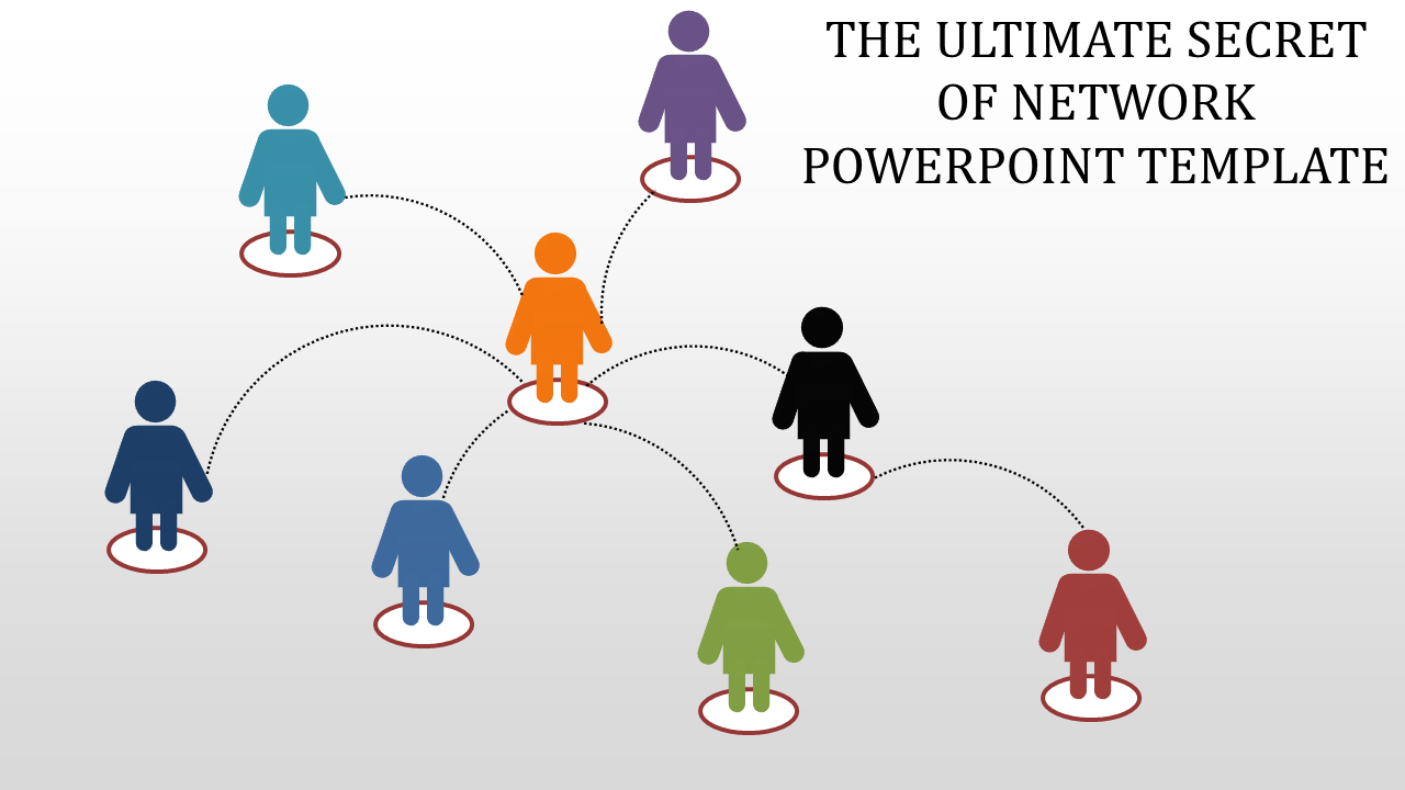 Free - Network PowerPoint Template Presentation