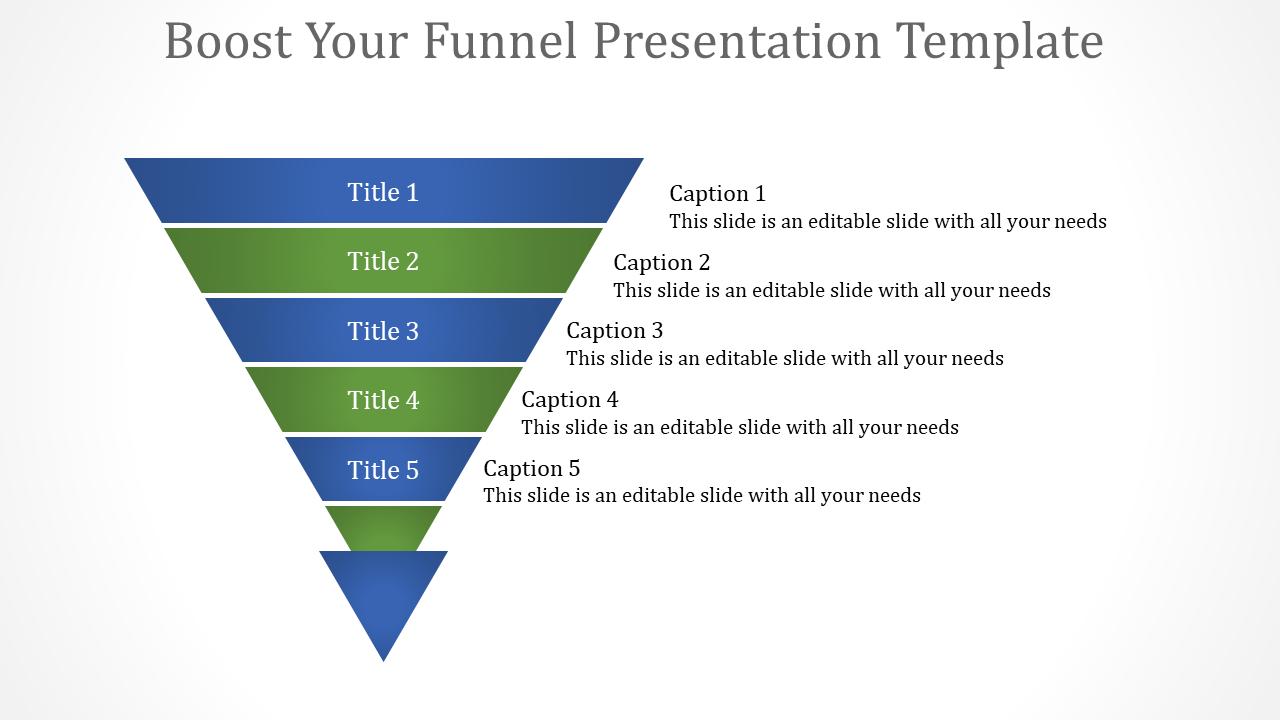 Analytics Funnel Presentation Template