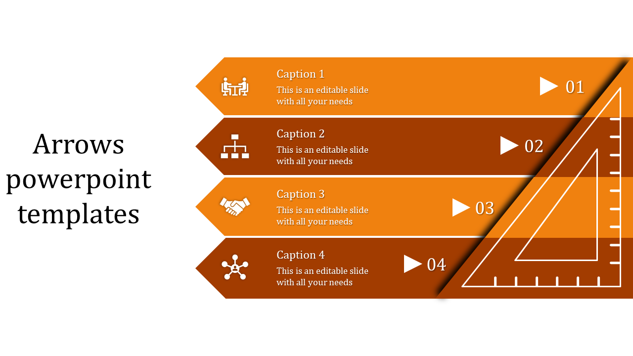 Great Lessons You Can Learn From Arrows Powerpoint Templates