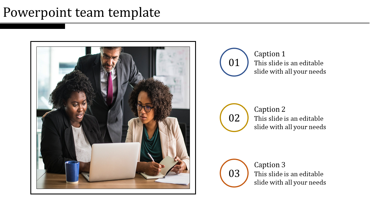 Powerpoint Team Template Design