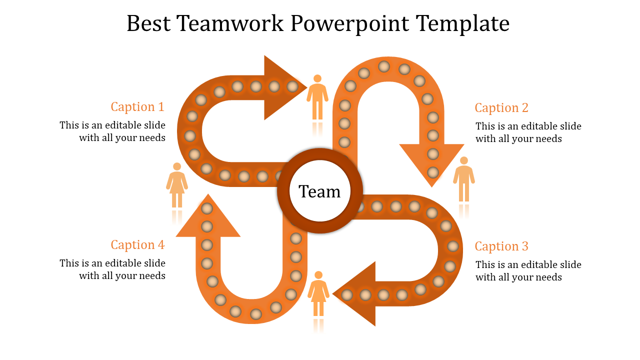 Incredible Teamwork Powerpoint Template
