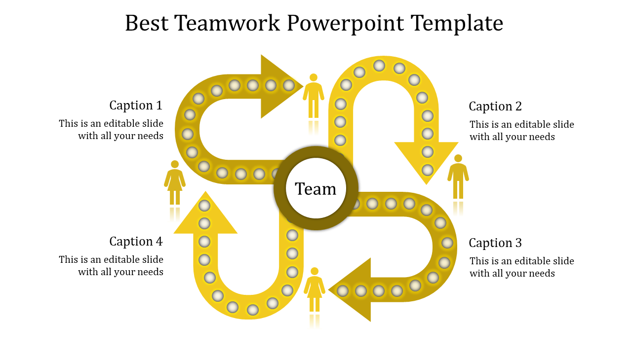 Create Better Teamwork Powerpoint Template